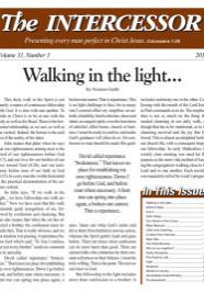 The Intercessor, Vol 31 No 3