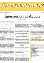 The Intercessor, Vol 33, No 2