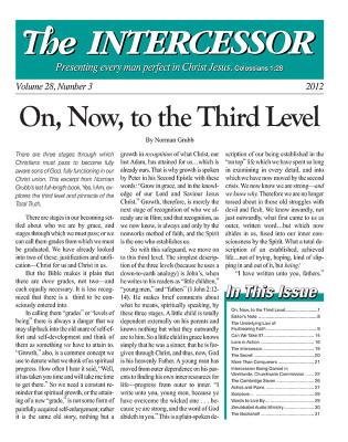 The Intercessor, Vol 28 No 3