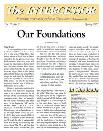 The Intercessor, Vol 17 No 2