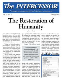 The Intercessor, Vol 18 No 2