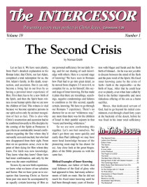 The Intercessor, Vol 19 No 1