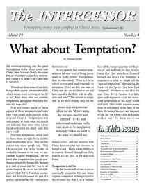 The Intercessor, Vol 19 No 4