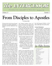 The Intercessor, Vol 21 No 2