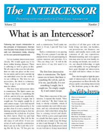 The Intercessor, Vol 22 No 2
