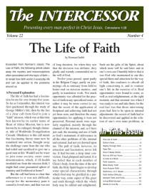 The Intercessor, Vol 22 No 4