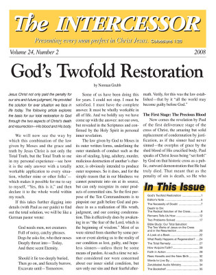 The Intercessor, Vol 24 No 2