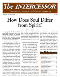 The Intercessor, Vol 24 No 3