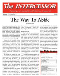 The Intercessor, Vol 25 No 2