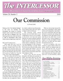 The Intercessor, Vol 26 No 2