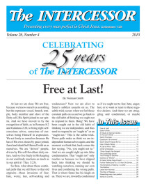The Intercessor, Vol 26 No 4