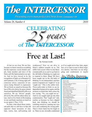 The Intercessor, Vol 26 No 4
