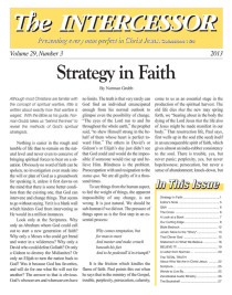 The Intercessor, Vol 29 No 3