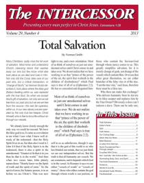 The Intercessor, Vol 29 No 4
