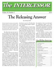The Intercessor, Vol 30 No 2