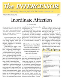 The Intercessor, Vol 30 No 3