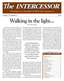 The Intercessor, Vol 31 No 3