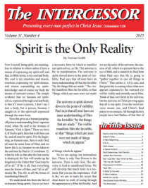 The Intercessor, Vol 31 No 4