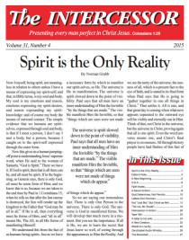 The Intercessor, Vol 31 No 4