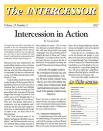 The Intercessor, Vol 33, No 2