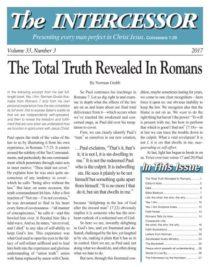 The Intercessor, Vol 33 No 3