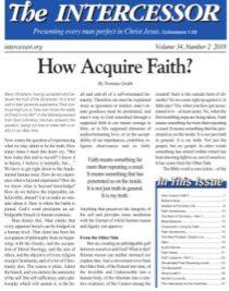Faith Lessons Part 1 - Zerubabbel Press